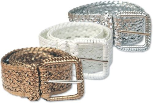 Ladies Weave Belt (3 Colours)