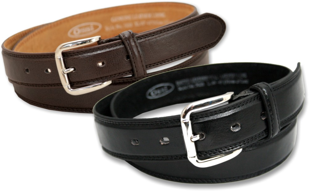 Ossi 30mm Leather Lined Belt (2 Pack)